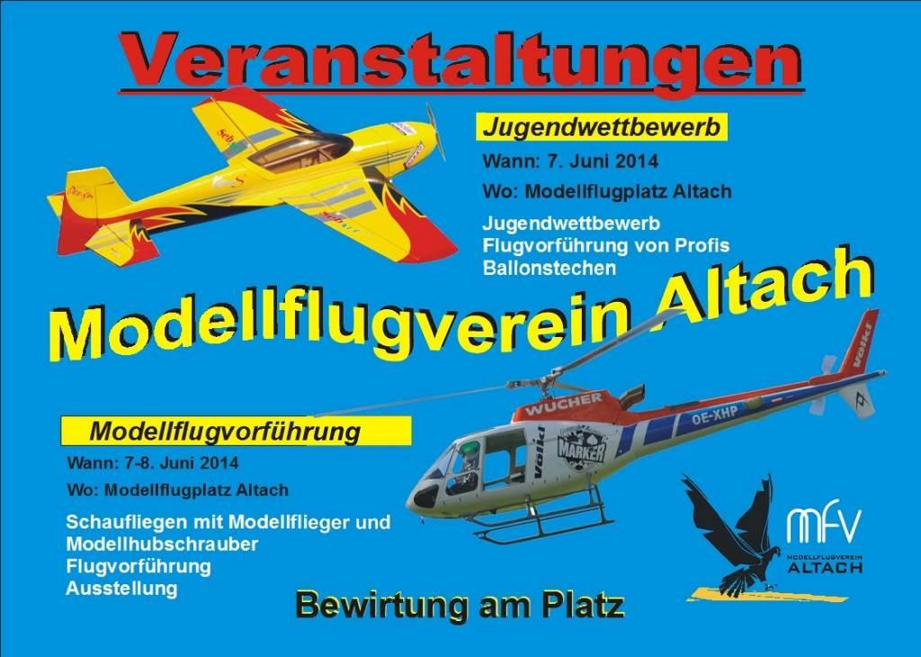 Jugendwettbewerb und Flugtag in Altach
